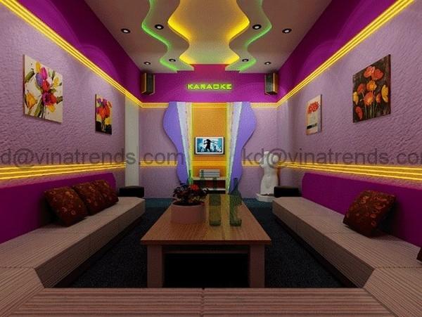 khong gian phong karaoke dep 978 6 bước thiết kế phòng karaoke đẹp xu hướng năm sau