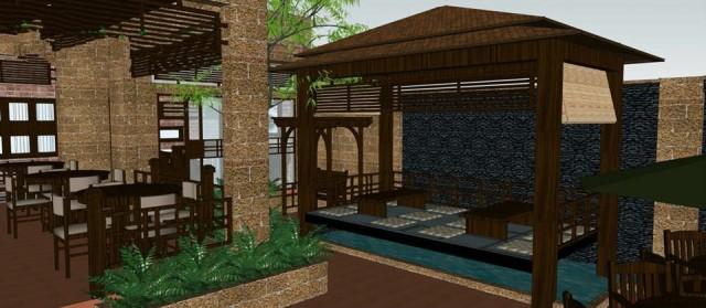 khong gian quan cafe dep 76 640x279 Mẫu thiết kế quán cafe đẹp thanh lịch yên tĩnh   QCF170914A